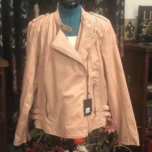NWT Lane Bryant Faux Leather Jacket